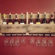 Олдовый винный шкаф своими руками