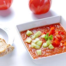 Ледяной суп гаспачо