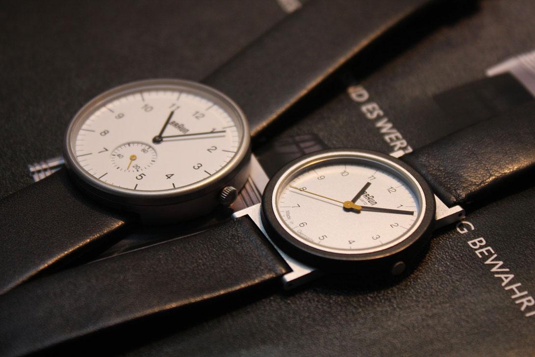 Минималистические часы от  Braun