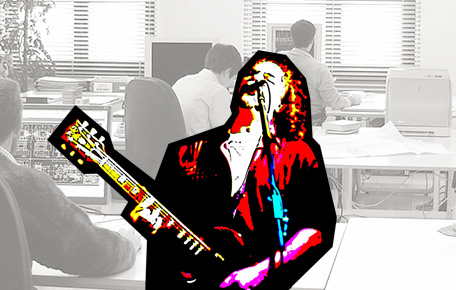 Стань Rock-Star в своем офисе