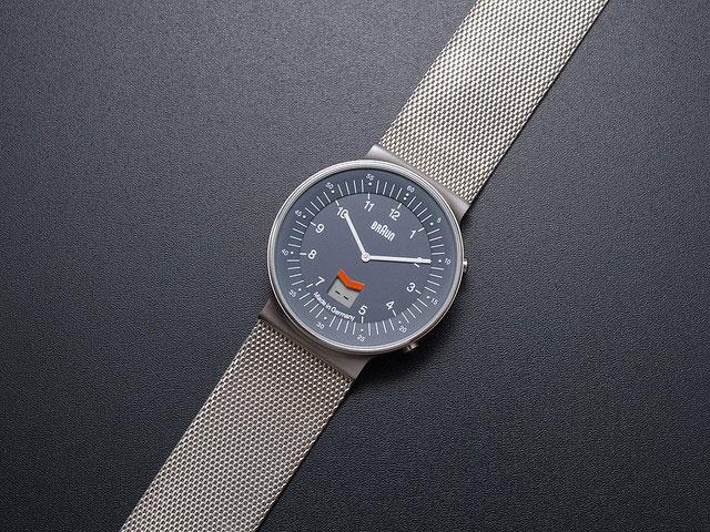 Минималистические часы от  Braun BroDude.ru