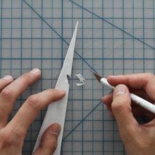 Очень быстрый и усовершенствованный бумажный самолет