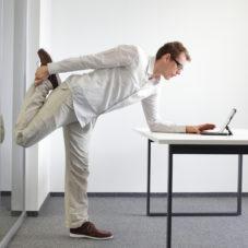7 простых упражнений для офиса