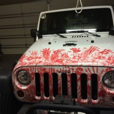Машина для охоты на зомби