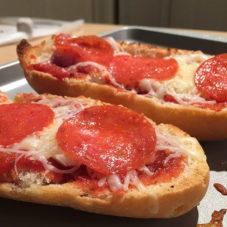 Бутербродная пицца