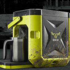 Coffeeboxx – взрывоустойчивая и непробиваемая кофемашина