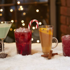 Отличные рецепты новогодних коктейлей