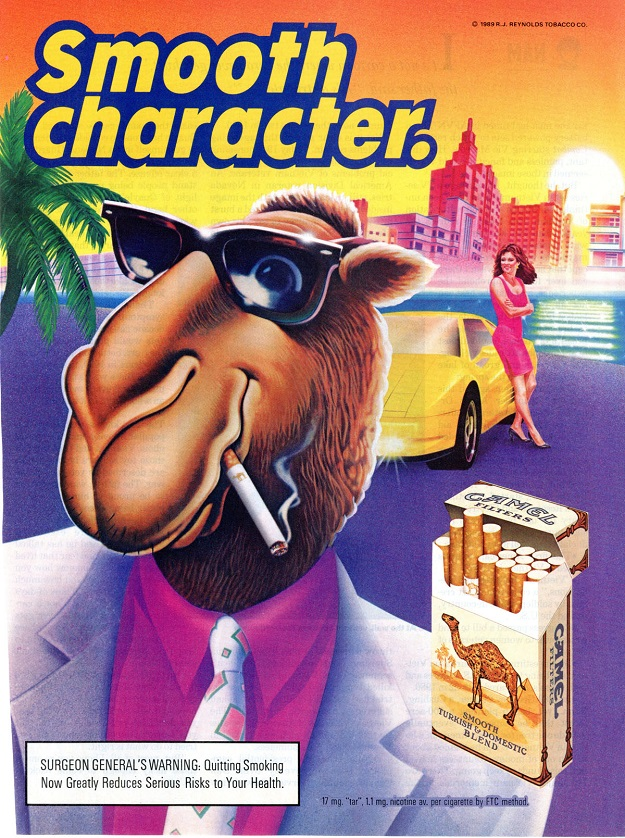 the joe camel ad campaign Teen girls say pink camel in cigarette ads caught their eye one ad campaign in these are the same people that brought us joe camel, a very big campaign.