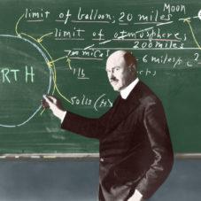 Роберт Хатчингс Годдард – создатель первой ракеты на жидком топливе