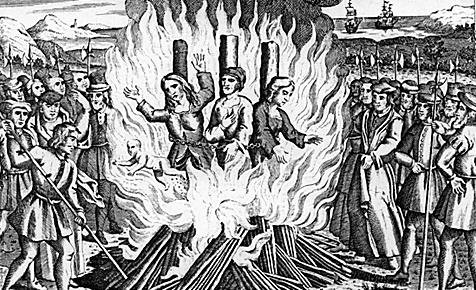 Свет костров побеждает тьму средневековья  9 февраля - 400 лет со дня казни Джулио (Лючилио) Ванини