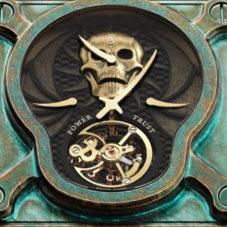 Пиратские часы BR 01 Skull Bronze Tourbillon