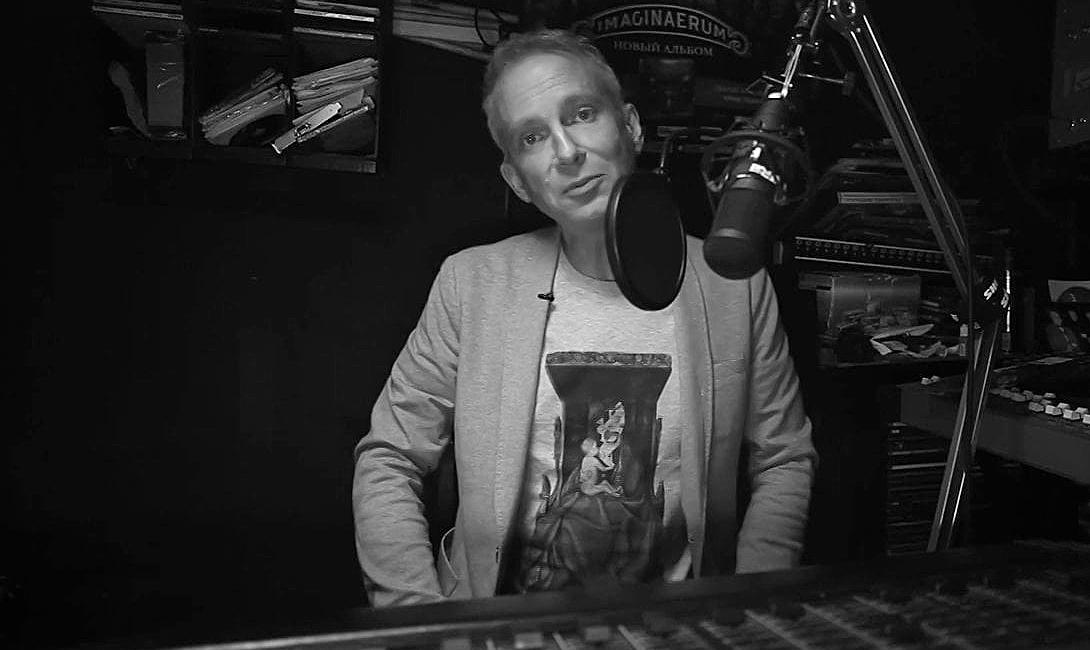 Радиоведущий Василий Стрельников