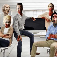 Мертвые люди на работе