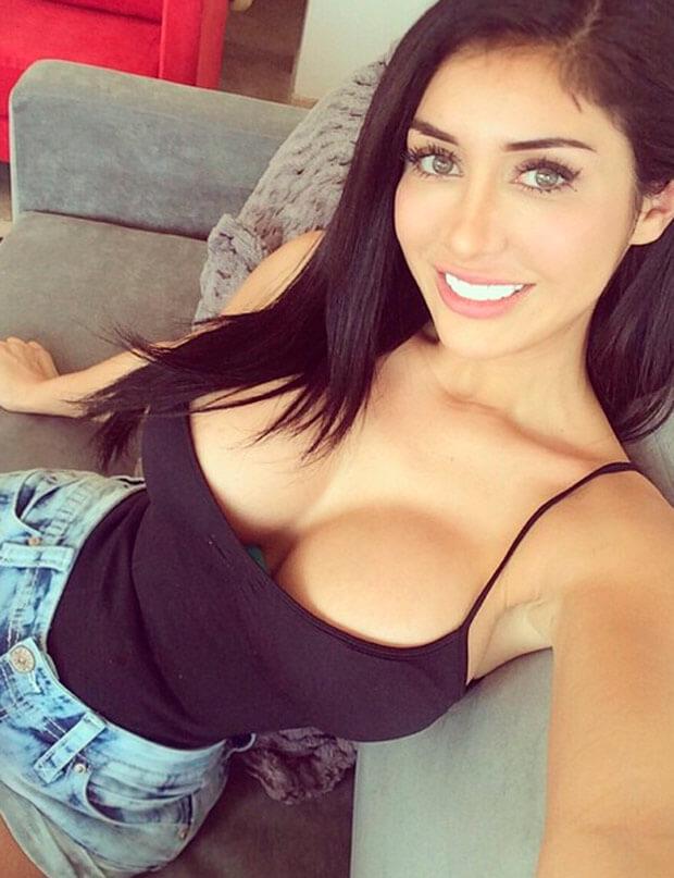 Busty Latina girlfriend Evie Delatosso riding cock in bathroom  149863