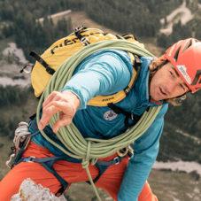 Тренировка настоящего альпиниста