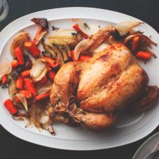 Идеальный жареный цыпленок