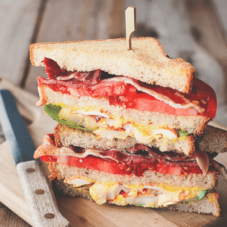 Твой идеальный сэндвич на завтрак