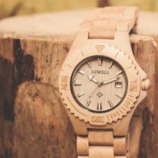 Часы из амазонского дерева