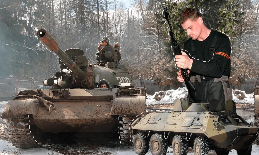 Поездка на танках в подарок