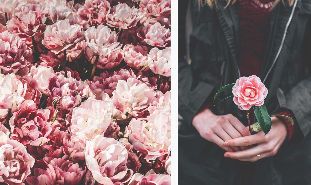 Цветы по поводу и просто так, букет маме на 65 лет