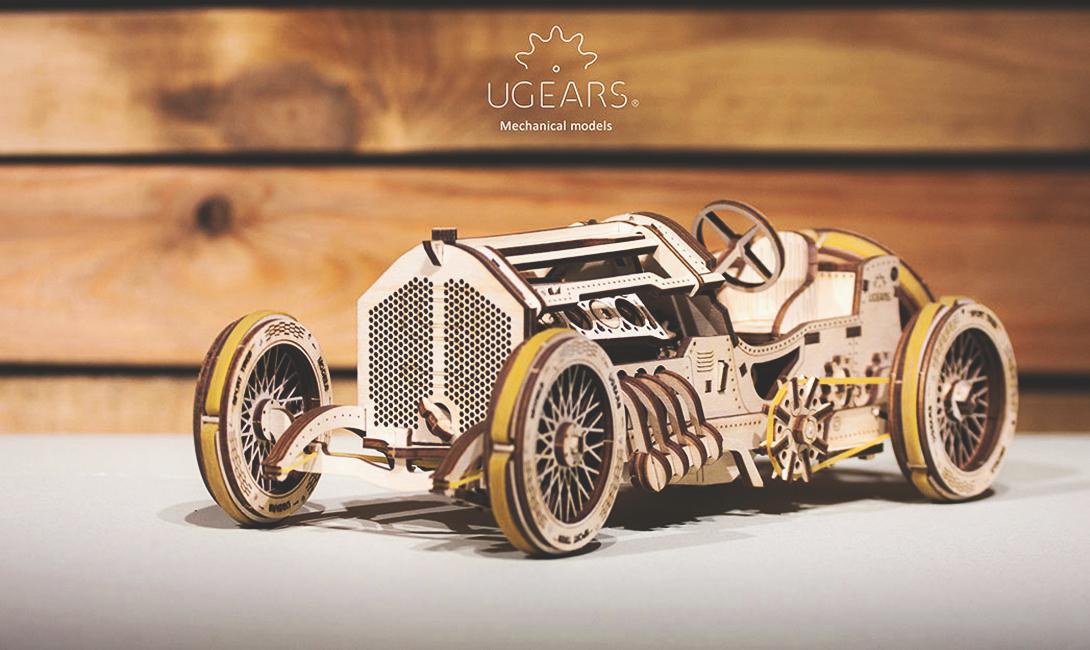 Деревянный конструктор Ugears cпорткар