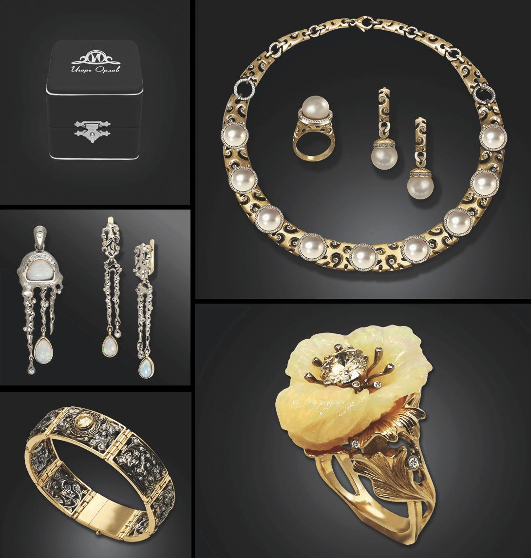 36349e124506 Так как Игорь Орлов изготавливает различные украшения (кольца, серьги,  браслеты, колье, кулоны, ...