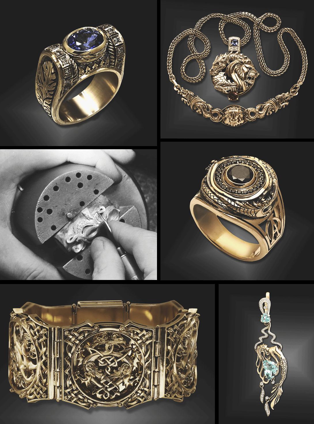 e6af828d4981 Хочешь строгую печатку в духе нефтяных магнатов 20 века, роскошное  коктейльное кольцо или лёгкий браслет, ...