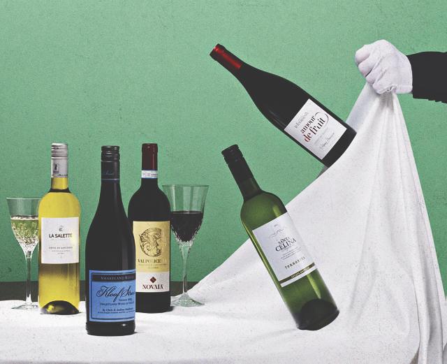 Что пьют с белым вином