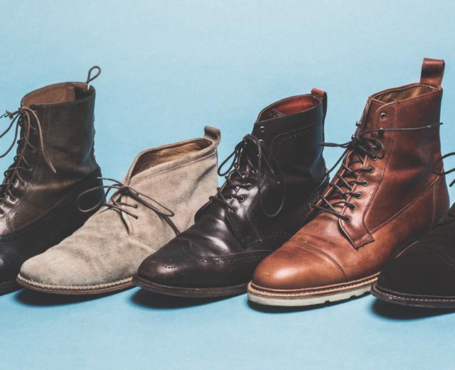 10 пар обуви базового гардероба мужчины