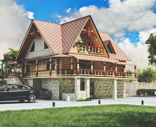 Как выбрать, из чего строить дом: брус или каркас